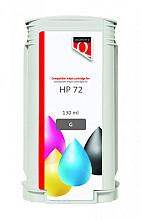 Inkcartridge Quantore HP 72 C9374A grijs