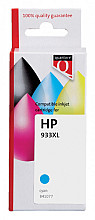 Inktcartridge Quantore HP CN054AE 933XL blauw
