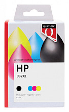 Inktcartridge Quantore HP C2P42AE 932XL + 933XL zwart + kleur