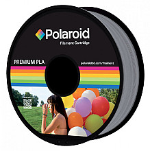 3D Filament Polaroid 1.75mm PLA 1kg zilver
