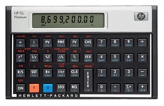 Rekenmachine HP 12C Platinum