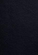Voorblad GBC A4 lederlook zwart 100stuks