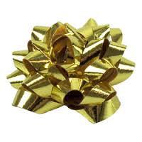 Starbow minibow metallic goud 25mm 75 stuks