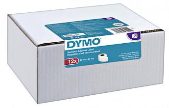 Etiket Dymo 19831 labelwriter 28x89mm 1560stuks