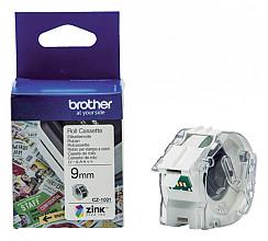 Labeletiket Brother CZ-1001 9mmX5m kleur opdruk