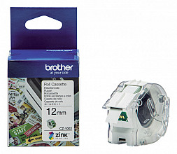 Labeletiket Brother CZ-1002 12mmX5m kleur opdruk