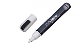 Krijtmarker Sigel whiteboard fluor wit 1-5mm