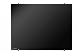 Glasbord Legamaster 90x120cm zwart