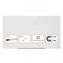 Glasbord Nobo Impression Pro 1883x1053mm briljant wit