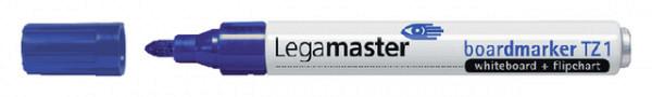 Viltstift LegamasterTZ1 whiteboard rond blauw 1.5-3mm