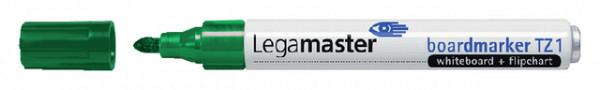 Viltstift Legamaster TZ1 whiteboard rond groen 1.5-3mm