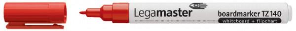 Viltstift Legamaster TZ140 whiteboard rond rood 1mm