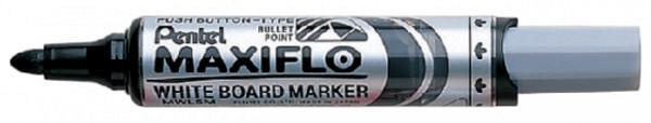Viltstift Pentel MWL5M Maxiflo whiteboard zwart 3mm