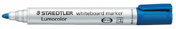 Viltstift Staedtler 351 whiteboard rond blauw 2mm