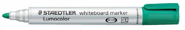 Viltstift Staedtler 351 whiteboard rond groen 2mm