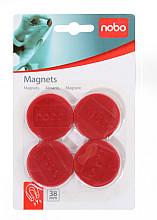 Magneet Nobo 38mm 800gr rood