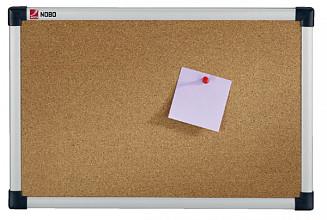 Prikbord Nobo 45x60cm kurk retailverpakking
