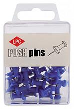 Push pins LPC 40stuks blauw