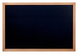 Krijtbord Securit wand 60x80cm teak hout