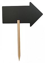 Krijtbord Securit pijl 44x27cm met houten pin