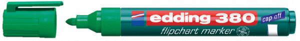 Viltstift edding 380 flipover rond groen 1.5-3mm