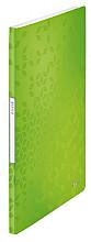 Showmap Leitz WOW A4 20-tassen PP groen