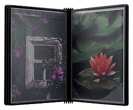 Wandelement Flex-O-Frame premium met 5-tassen zwart