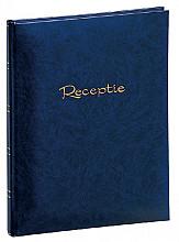 Receptiealbum garen gebonden 205x260mm blauw