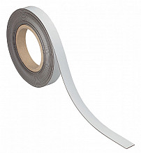 Magnetisch beschrijf- en wisbaar MAUL 10mx20mmx1mm wisbaar wit