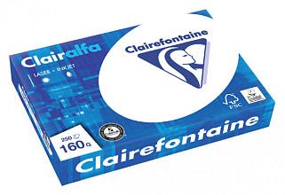 Kopieerpapier Clairefontaine Clairalfa A4 160gr wit 250vel