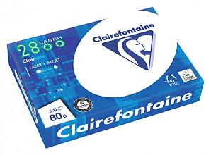 Kopieerpapier Clairefontaine laser A4 80gr wit 500vel
