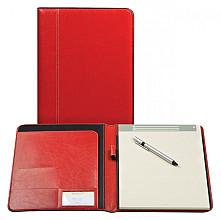 Schrijfmap Brepols Palermo A4 + blok rood