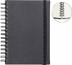 Notitieboek Quantore A5 spiraal tab zwart