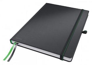 Notitieboek Leitz Complete hardcover A4 lijn zwart