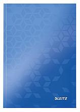 Notitieboek Leitz WOW A5 lijn blauw