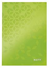 Notitieboek Leitz WOW A5 lijn groen