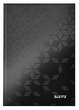 Notitieboek Leitz WOW A5 lijn zwart