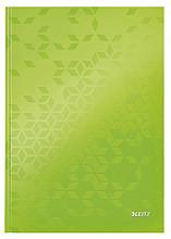 Notitieboek Leitz WOW A4 lijn groen
