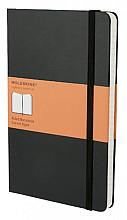 Notitieboek Moleskine large 130x210mm lijn zwart