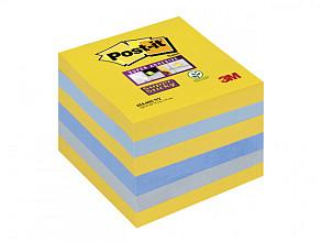 Memoblok 3M Post-it 654 Super Sticky 76x76mm New York