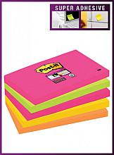 Memoblok 3M Post-it 655 Super Sticky 76x127mm Cape Town