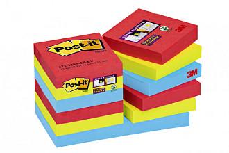 Memoblok 3M Post-it 622 Super Sticky 47.6x47.6mm Bora Bora