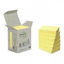 Memoblok 3M Post-it 653 38x51mm recycled geel