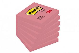Memoblok 3M Post-it 654 76x76mm neon roze