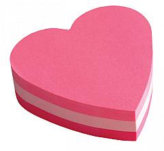 Memoblok 3M Post-it 2007 70x70mm kubus hart roze